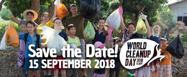 World Cleanup Day 15th September 2018