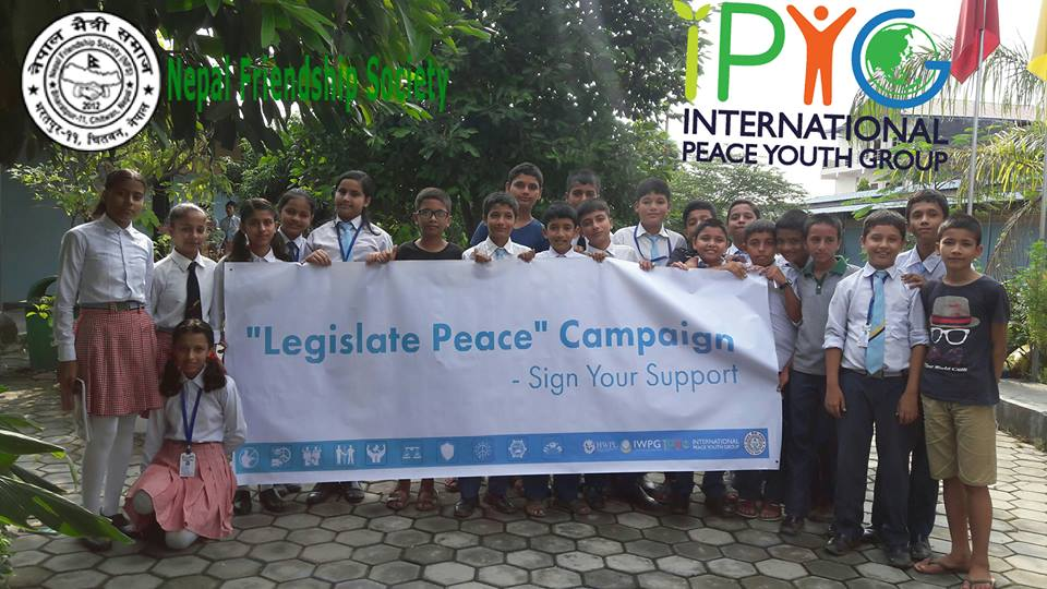 Legislate Peace Campaign Nepal 2017